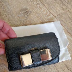 Chloé Lily 6 Key Holder Leather